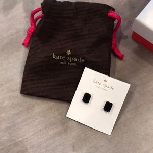 Kate spade earrings French Navy NWT
